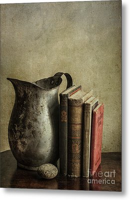 Still Life With Pitcher Metal Print by Terry Rowe