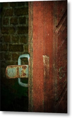 Still Waiting At Your Gate Metal Print by Odd Jeppesen