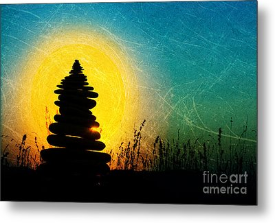 Stillness And Movement Metal Print by Tim Gainey