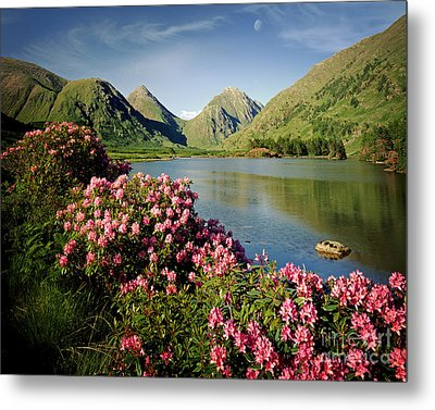 Stillness Of The Mountain Metal Print by Edmund Nagele