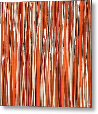 Stimulating Colors Metal Print by Lourry Legarde