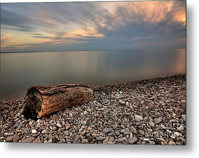 Stone Beach Metal Print by James Dean