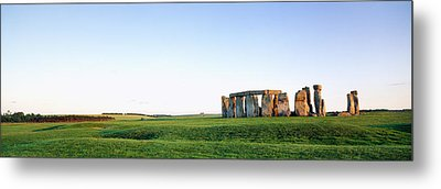 Stonehenge Wiltshire England Metal Print by Panoramic Images