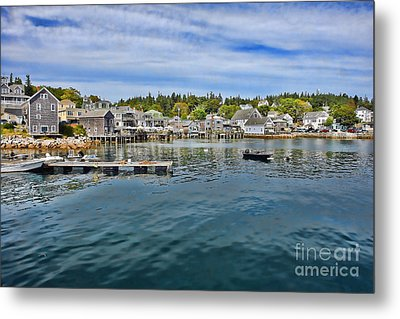 Stonington In Maine Metal Print by Olivier Le Queinec