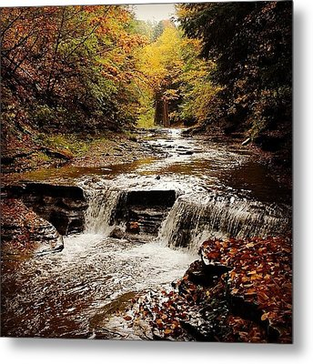 Stony Brook Gorge Metal Print by Justin Connor