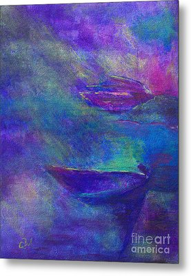 Storm Boats Metal Print by Claire Bull