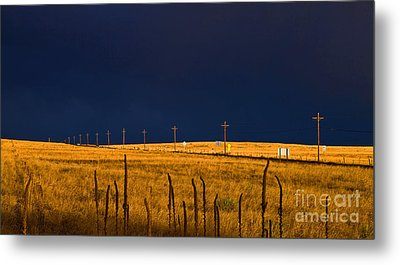Storm Of Redemption Metal Print by Barbara Schultheis