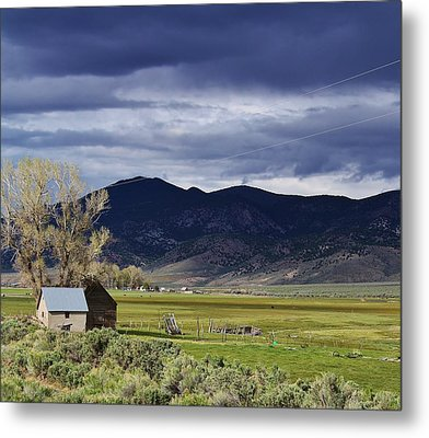Storm On The Horizon Metal Print by Bruce Bley