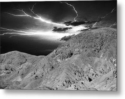 Storm On The Mountain Metal Print by Athala Carole Bruckner