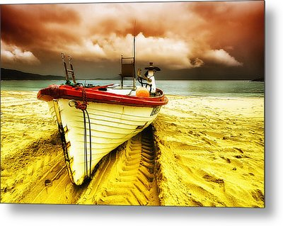 Storm On The Way 01 Metal Print by Kevin Chippindall