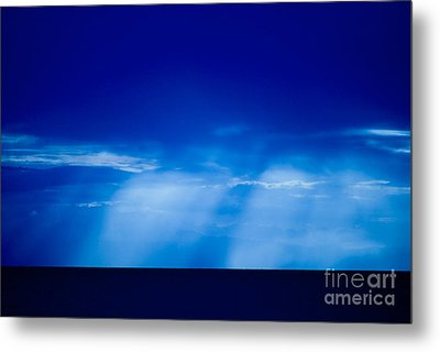 Storm Over Camotes Metal Print by Hank Taylor