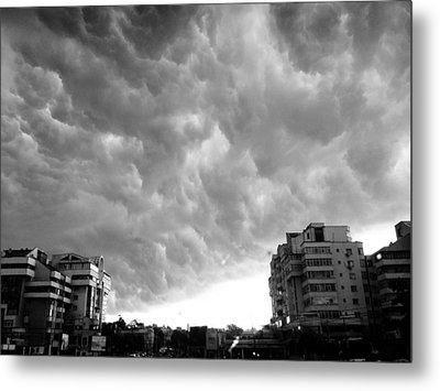 Storm Metal Print by Silvia Puiu