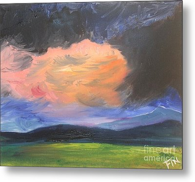 Stormchaser Metal Print by PainterArtist FIN