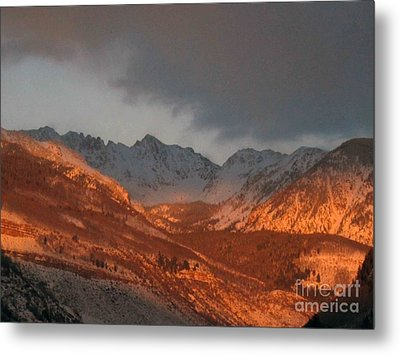 Stormy Monday Metal Print by Fiona Kennard