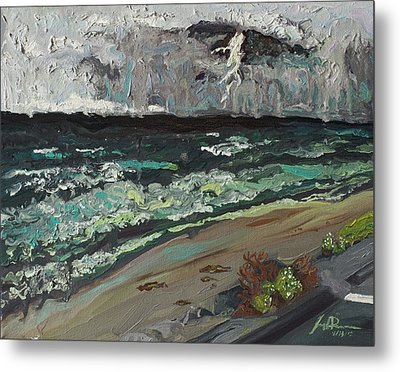 Stormy Weather Metal Print by Joseph Demaree