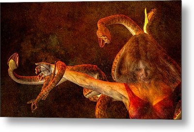 Story Of Eve Metal Print by Bob Orsillo