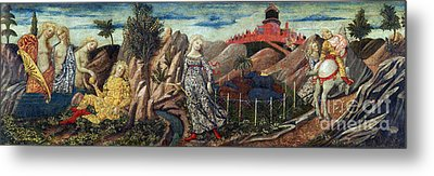 Story Of Oenone And Paris 1460 Metal Print by Getty Research Institute
