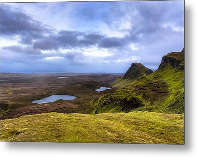 Storybook Beauty Of The Isle Of Skye Metal Print by Mark E Tisdale