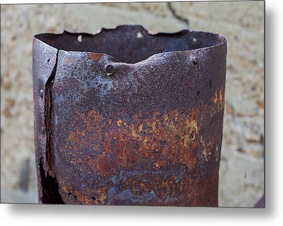 Stove Pipe Metal Print by Fran Riley