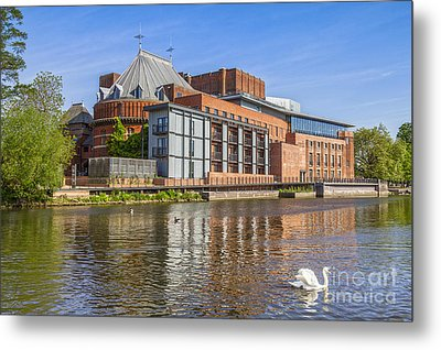 Stratford Upon Avon Royal Shakespeare Theatre Metal Print by Colin and Linda McKie