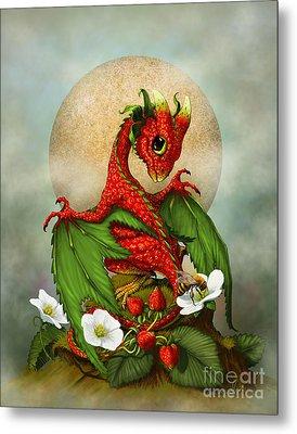 Strawberry Dragon Metal Print by Stanley Morrison
