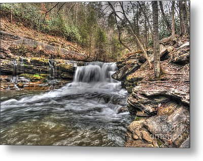 Stream Near Thurmond Wv Metal Print by Dan Friend