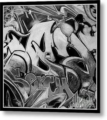 Street Expression Metal Print by Mylene Le Bouthillier