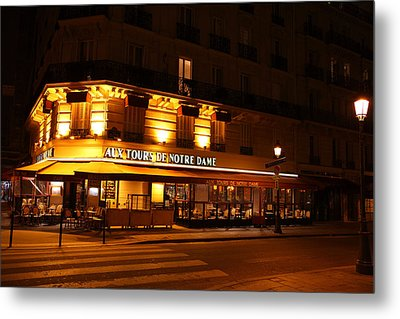Street Scenes - Paris France - 011324 Metal Print by DC Photographer