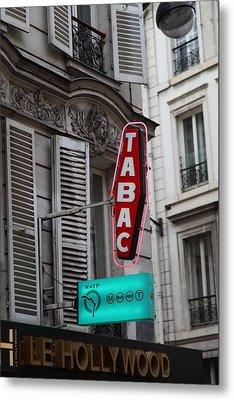 Street Scenes - Paris France - 011340 Metal Print by DC Photographer