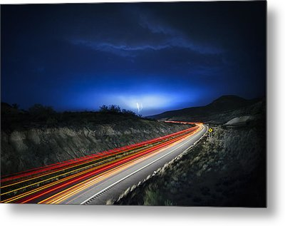 Storm Chasers Metal Print by Sean Foster