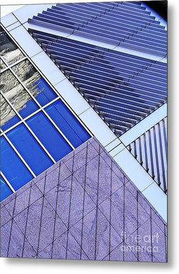 Structural Abstract 7 Metal Print by Sarah Loft