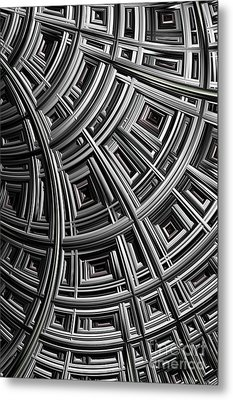 Structure Metal Print by John Edwards