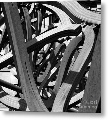 Structure Metal Print by Tom Gallahue