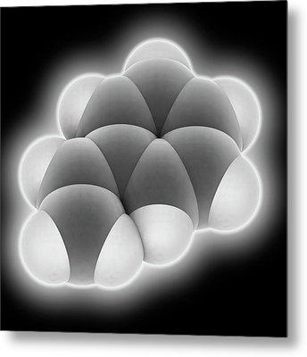 Styrene Molecule Metal Print by Laguna Design