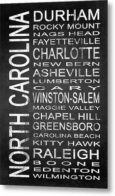 Subway North Carolina State 1 Metal Print by Melissa Smith