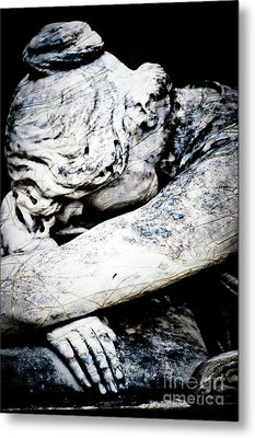 Suffer Well Metal Print by Sonja Quintero