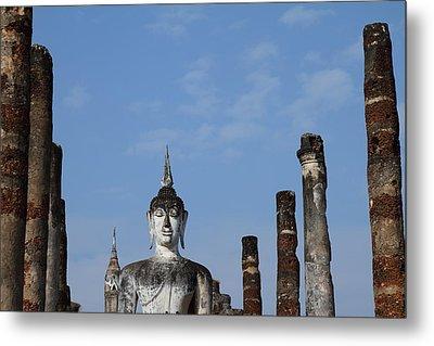 Sukhothai Historical Park - Sukhothai Thailand - 011338 Metal Print by DC Photographer