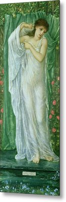 Summer Metal Print by Sir Edward Coley Burne-Jones
