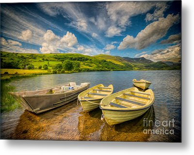 Summer Boating Metal Print by Adrian Evans