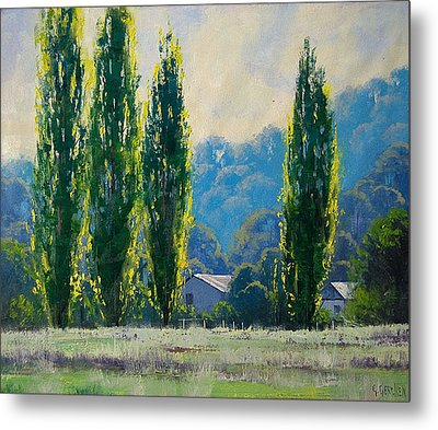 Summer Greens Metal Print by Graham Gercken