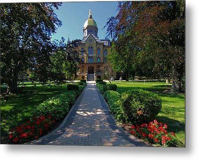 Summer On Notre Dame Campus Metal Print by Dan Sproul