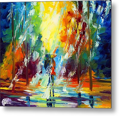 Summer Rain Metal Print by Ash Hussein