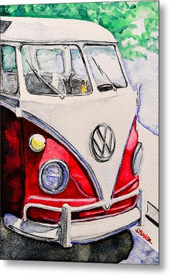 Summer Ride Metal Print by Scott  Parker