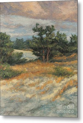 Summer Shadows - Provincetown Metal Print by Gregory Arnett