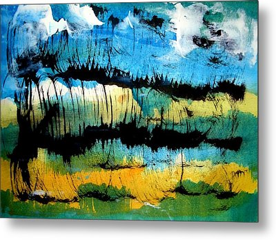 Summer Sky Metal Print by Aquira Kusume