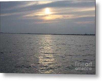 Summer Sunset Over Freeport Metal Print by John Telfer