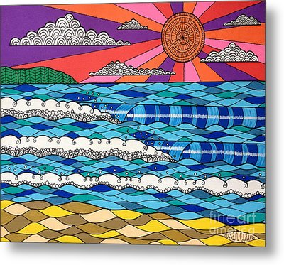 Summer Vibes Metal Print by Susan Claire