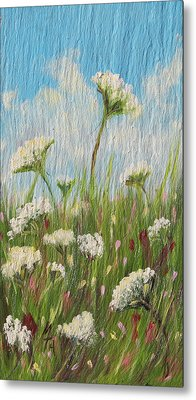 Summer Wind Metal Print by Meaghan Troup