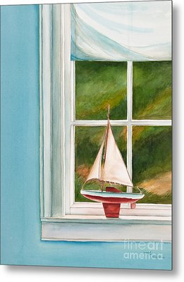 Summers At The Beach Metal Print by Michelle Wiarda