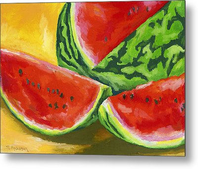 Summertime Delight Metal Print by Stephen Anderson